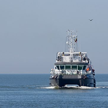 Spaudoje apie Jūros tyrimų instituto mokslinių tyrimų laivą