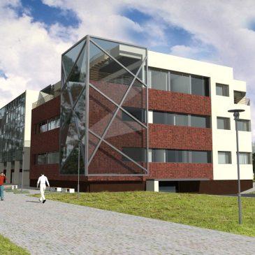 Pradėtos mokslinių laboratorijų pastato statybos