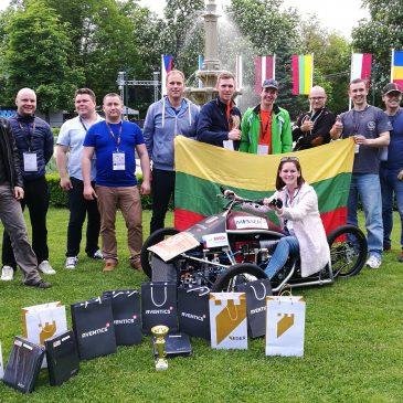 """""""Lithuanian Spirit"""" komanda tarptautinėse Aventics Pneumobile varžybose"""