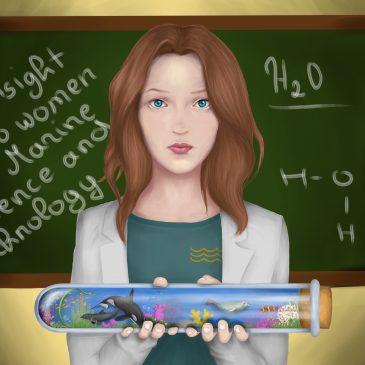 Ar jūros tyrimų srityje yra vietos Moterims?